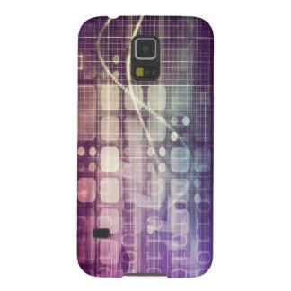 Capinha Galaxy S5 Conceito abstrato futurista na tecnologia