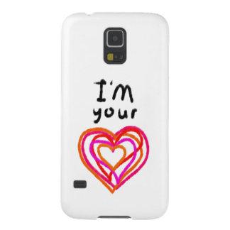 Capinha Galaxy S5 Coração