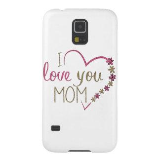 Capinha Galaxy S5 Coração do dia das mães da mamã do amor