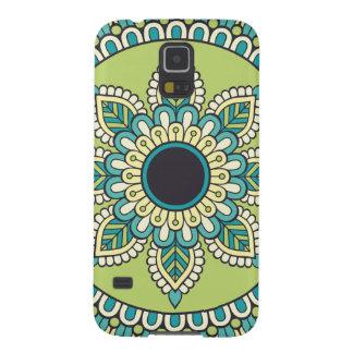 Capinha Galaxy S5 Design verde bonito de Boho