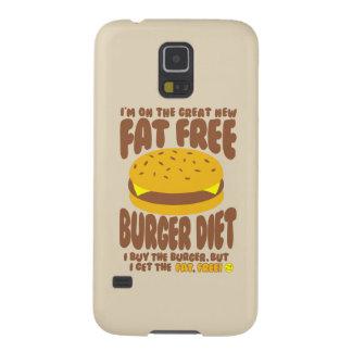 Capinha Galaxy S5 Dieta livre de gordura do hamburguer