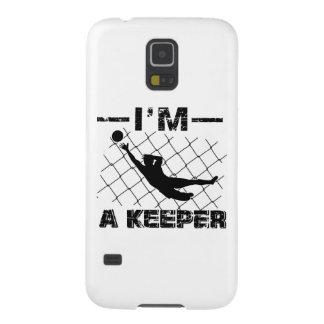 Capinha Galaxy S5 Eu sou um depositário - design do guarda-redes do