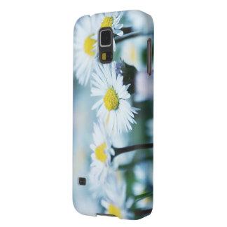 Capinha Galaxy S5 Flores da margarida