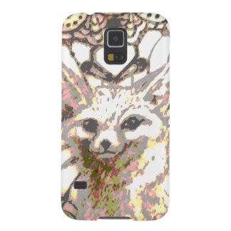Capinha Galaxy S5 Fox de brilho do deserto