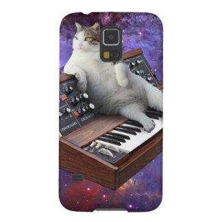 Capinha Galaxy S5 gato do teclado - memes do gato - gato louco
