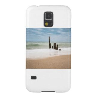 Capinha Galaxy S5 Groynes na costa do mar Báltico