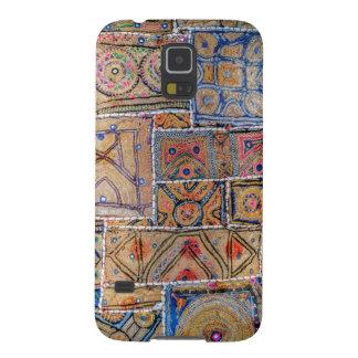 Capinha Galaxy S5 O azul e o ouro infundiram o design do telefone da