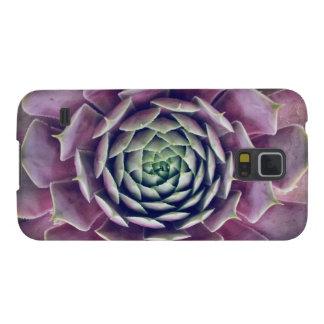 Capinha Galaxy S5 Plantas violetas