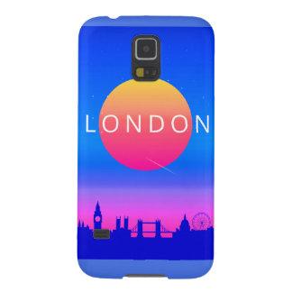 Capinha Galaxy S5 Poster de viagens dos marcos de Londres