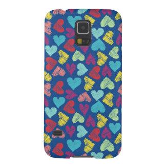 Capinha Galaxy S5 Scribble Heart