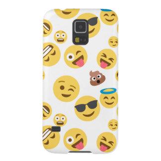 Capinha Galaxy S5 Smiley louco Emojis