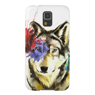 Capinha Galaxy S5 Splatter do lobo