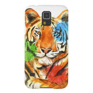 Capinha Galaxy S5 Splatter do tigre