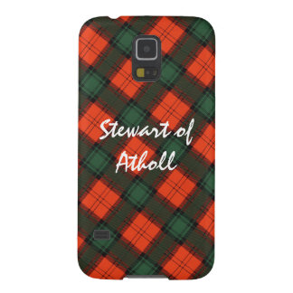 Capinha Galaxy S5 Stewart do Tartan escocês do Kilt de Atholl