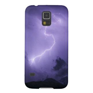 Capinha Galaxy S5 Temporal roxo na noite