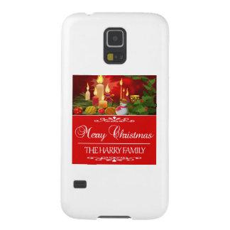 Capinha Galaxy S5 Tendendo o design do Natal da família de Harry