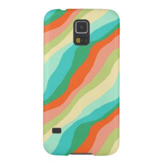 Capinha Galaxy S5 Teste padrão colorido do abstrato do primavera