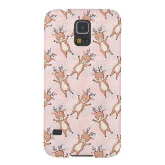 Capinha Galaxy S5 Teste padrão dos cervos do Natal