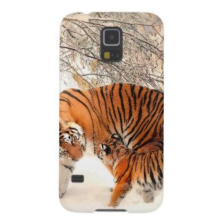 Capinha Galaxy S5 Tigre e filhote - tigre