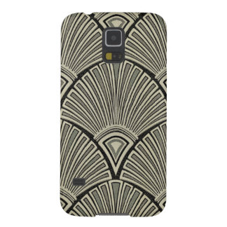 Capinha Galaxy S5 vintage, nouveau da arte, bege, cinza, art deco,