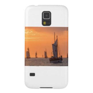 Capinha Galaxy S5 Windjammer na luz do por do sol