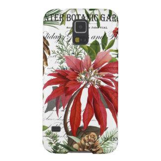Capinha Galaxy S5 Wintergarden moderno do vintage floral