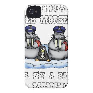 Capinha iPhone 4 À BRIGADA dos MORSE não há MANETA