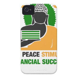 Capinha iPhone 4 A paz interna estimula o sucesso financeiro