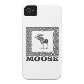Capinha iPhone 4 alces do touro em uma caixa