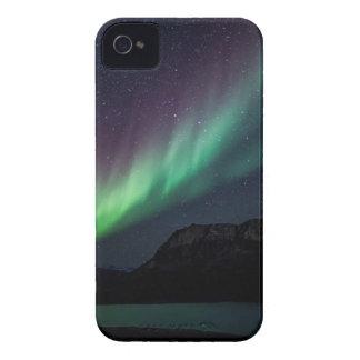 Capinha iPhone 4 Aurora Borealis na noite