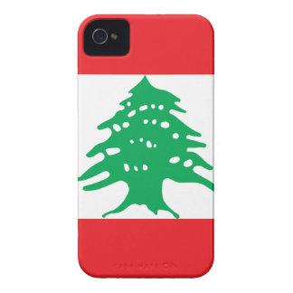 Capinha iPhone 4 Baixo custo! Bandeira de Líbano