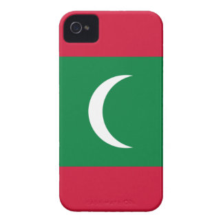Capinha iPhone 4 Baixo custo! Bandeira de Maldives