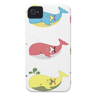 Capinha iPhone 4 Baleias amigáveis