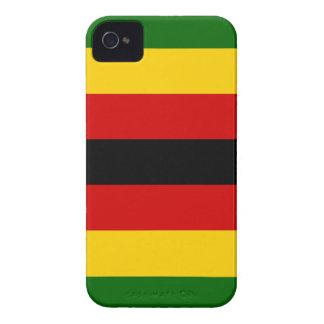 Capinha iPhone 4 Bandeira do weZimbabwe de Zimbabwe - de