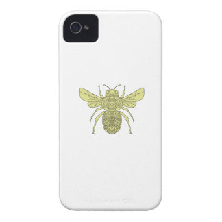 Capinha iPhone 4 Bumble a mandala da abelha