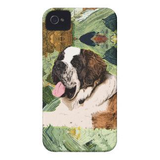 Capinha iPhone 4 Cão de St Bernard