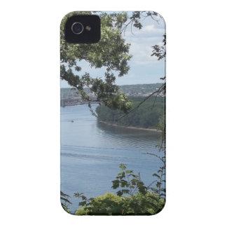 Capinha iPhone 4 Cidade de Dubuque, Iowa no rio Mississípi