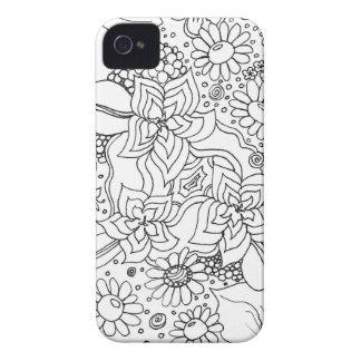Capinha iPhone 4 Conglomeração das flores