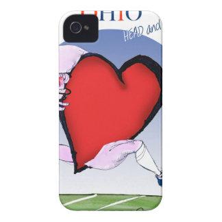 Capinha iPhone 4 coração principal de ohio, fernandes tony