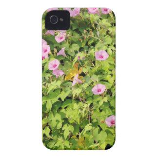 Capinha iPhone 4 Corriolas cor-de-rosa Bush