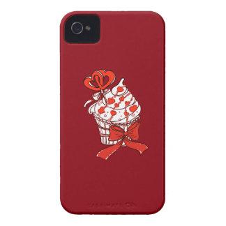 Capinha iPhone 4 Cupcake dos namorados