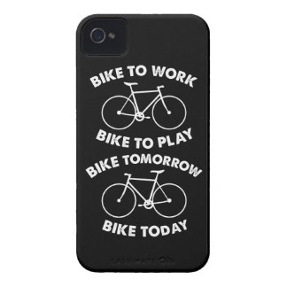 Capinha iPhone 4 Da bicicleta ciclismo legal para sempre -