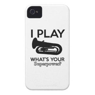 Capinha iPhone 4 design da tuba
