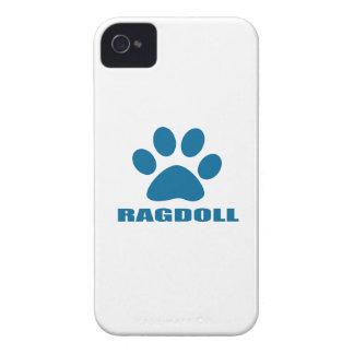CAPINHA iPhone 4 DESIGN DO CAT DE RAGDOLL