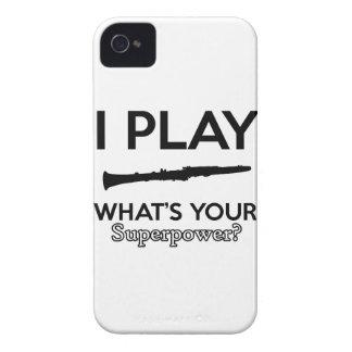 Capinha iPhone 4 design do clarinete