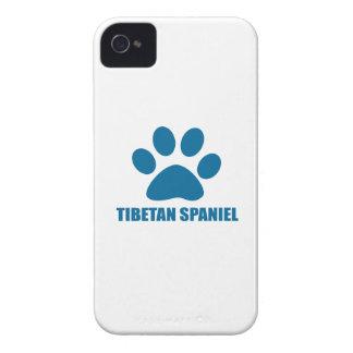 CAPINHA iPhone 4 DESIGN TIBETANO DO CÃO DO SPANIEL