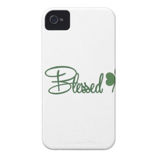 Capinha iPhone 4 ☘ do design do dia de St Patrick abençoado