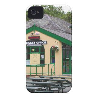 Capinha iPhone 4 Estação de comboio da montanha de Snowdon,