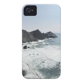 Capinha iPhone 4 Estrada Sur grande da Costa do Pacífico da vista