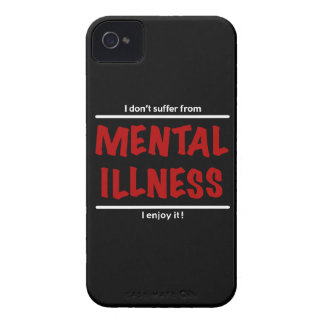 Capinha iPhone 4 Eu não sofro da doença mental, mim aprecio-a!